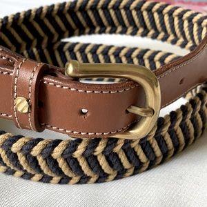 ERMENEGILDO ZEGNA men's belt